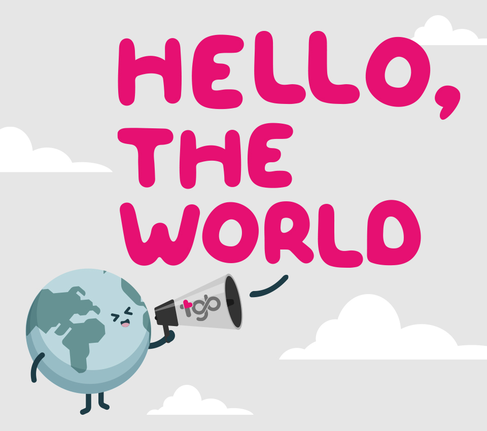 HELLO, THE WORLD