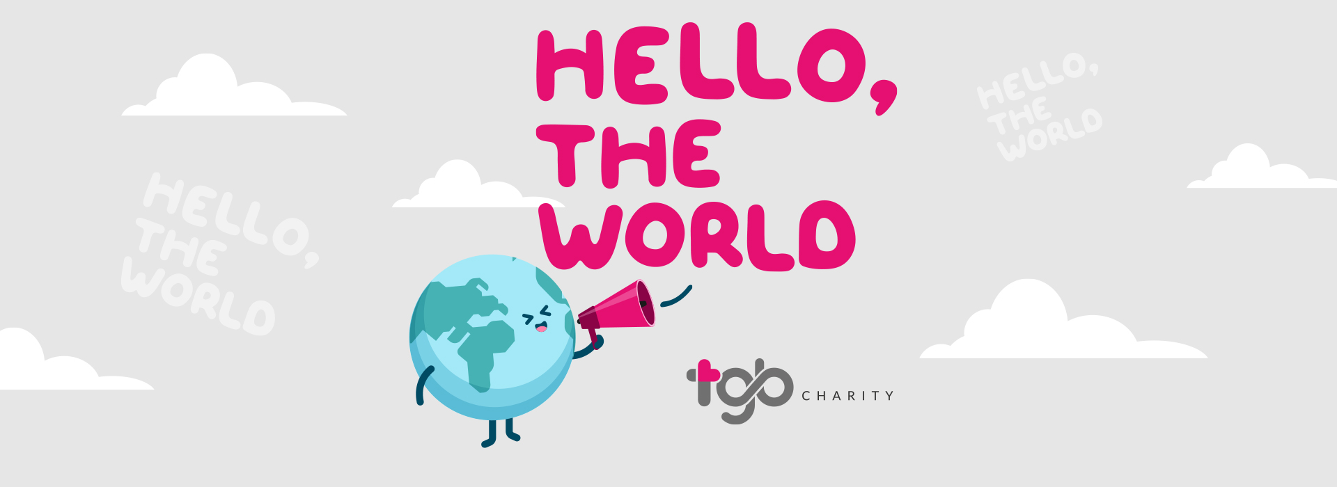 TGB Charity's new website is ready to say HELLO to all of you!